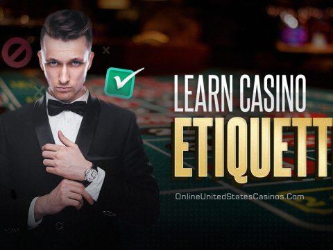 casino etiquette